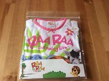Raa Raa, hufty and zebby The Noisy Lion Pyjamas Size 4-5 Years