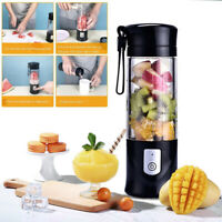 Fruit Blender USB Rechargeable Juicer Bottle Juice Maker Squeezer Smoothie Mixer