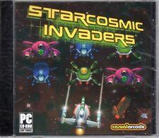 StarCosmic Invaders (PC-CD, 2006) Windows 98/ME/XP/Vista/7 - NEW in Jewel Case