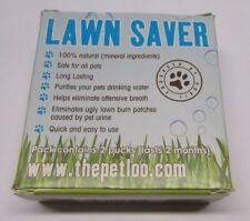 The Pet Loo Lawn Saver Water Pucks- 2-pack Save Your Lawn From Pet Pee Spots