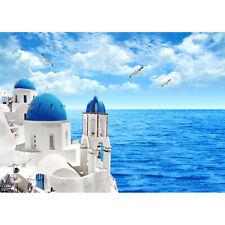 500 Pieces Adult Puzzle Santorini Aegean Sea Scene Jigsaw Educational Toys Gift