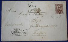Mayfairstamps Argentina Tolosa Certified Missing Stamp Postal History cover wwg1