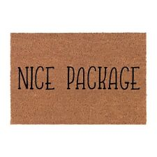 Nice package Door Mat | Funny Outdoor/Indoor Door Mat  | Mailman doormat