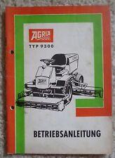 Agria Spindelmäher 9300 Betriebsanleitung