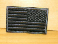 """USA US Flag Reversed Full 3x2"""" VELCRO® BRAND Hook Fastener Compatible Patch"""