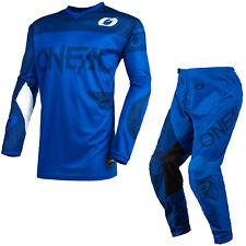 ONeal Element Racewear 2021 Motocross Suit Blue MX Off Road Jersey Pants Kit