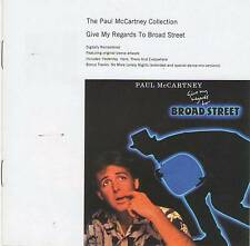 PAUL MCCARTNEY COLLECTION - GIVE MY REGARDS TO BROAD STREET CD Jewel Case+GIFT