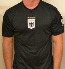 WM 2014 Hombre Camiseta Alemania NEGRO talla M