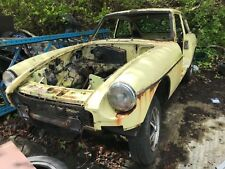 Mgb Gt 1977 Rolling Shell With V5 Lots Of History