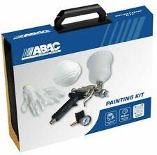 KIT per Verniciare Verniciatura ABAC aerografo regolatore pressione compressore