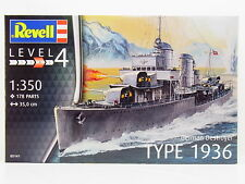 Lot 17163 | REVELL 05141 German Destroyer Type 1936 1:350 KIT NUOVO IN SCATOLA ORIGINALE