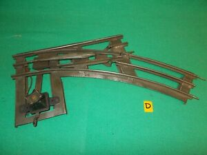 LIONEL STANDARD GAUGE RIGHT HAND SWITCH (Point) Ives Lionel American Flyer 'D'