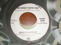 Gino Vannelli 45 One Night With You A & M PROMO
