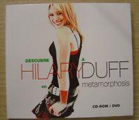 HILARY DUFF descubre a H D en metamorphosis RARE SPANISH PROMO CD-ROM / DVD 2003