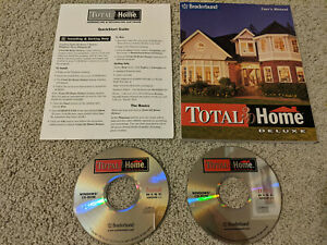 Total 3D Home Deluxe Version 1.1 2CD-ROM Windows 98 / Windows 95