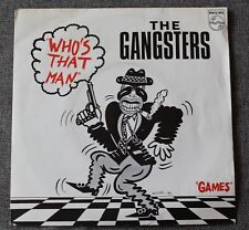 The gangsters featuring Carl Collins, who's that man / games, SP - 45 tours