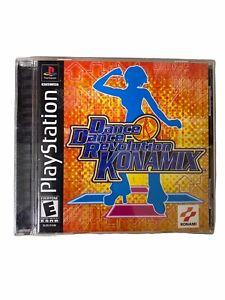 Dance Dance Revolution Konamix Sony PlayStation 1 2002 Complete  Tested