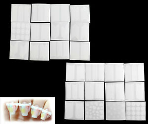 24Pcs French Nail Art Tips Manicure Guide DIY Stencil Form Sitckers Strips Set