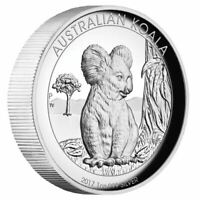 Australian Koala 2017 1oz Silver Proof High Relief Coin
