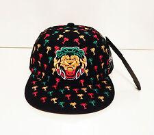 men womens weed cannabis snapback caps hat dope peak lion baseball jamaica