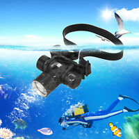 5000LM XM-L2 LED Diving Headlight Headlamp Light Scuba Flashlight Waterproof