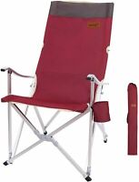 Folding Camping Patio Chair, Folding, Backpack, Heavy-Duty, Collapsible