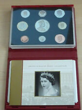 Superb 2002 UK Annual Proof Coin Collection Set 9 Coins in Sealed Pack
