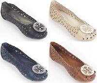 NEW * Women Ballerina Ballet Flats /w Buckle, Classic Slip Ons Slipper Shoes
