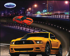 FORD MOTOR CAR COTTON FABRIC PANEL-FORD MUSTANG COTTON FABRIC PANEL-9930