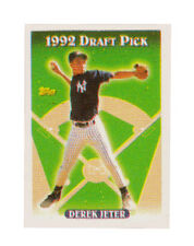 1993 Topps Gold Derek Jeter New York Yankees #98 Baseball Card