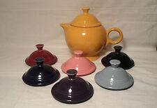 FIESTA LARGE 44 OZ   cinnabar TEA POT LID ONLY fiestaware