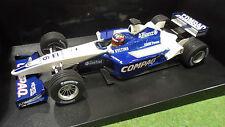 F1 WILLIAMS BMW FW23 Montoya 2001 au 1/18 Minichamps 100010006 voiture miniature