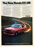 Pirelli 1993 Mazda RX7 Classic Vintage Advertisement Ad D79