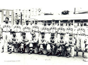 Homestead Grays 1939 - Negro League, 8x10 B&W Photo