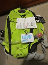 New Osprey Rev 1.5 Running Pack Vest Size S/M Color Flash Green