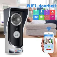 Wireless WiFi Remote Video Camera Door Phone Doorbell Intercom Monitor Security