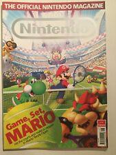Nintendo Official Magazine Issue 82 June 2012 Wii U Mario Tennis Sonic Lego