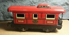 Vintage Marx | New York Central Lines | Tinplate Caboose | Prewar | 556 | Good