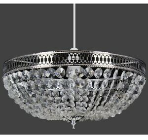 Brand New Acrylic Bowl Pendant Ceiling Light Shade