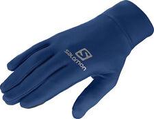 Gants bleu pour cycliste
