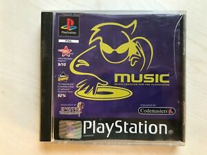 MUSIC PS1 Game UK PAL USED
