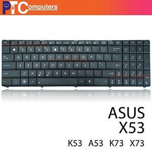 Laptop Keyboard for Asus X53B X53S X53T X53Z X53U Series US Black
