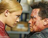 Arnold Schwarzenegger Kristanna Loken Terminator 8x10 Photo 004