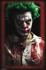 PSYCHO CLOWN POSTER - 22x34 - SCARY 15380