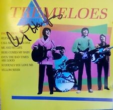 LEN CHIP HAWKES AUTOGRAPH / signed p/s Tremeloes ultimate collection CD 60s pop