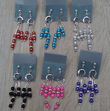 Mode-Ohrschmuck im Hänger-Stil mit Perlen (Imitation)