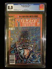Marvel Machine Man #V2 #1, 10/84,  CGC 8.0 White Pages, Tom DeFalco, 0006