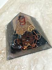 Orgonit Pyramide - Turmalin Metatrons Würfel programmiert nach Agnihotra 240