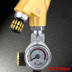 Universal G1/4 Metal Spray Paint Gun Air Pressure Regulator Spray Gun 0-0.10Mpa