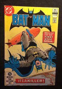 """DC  BATMAN Vol. 43  #352  Oct. 1982 """"The Killer Sky!"""" Bronze Age 8.0 VF"""